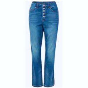 NWT! Nine West Island Reef Crop Jeans